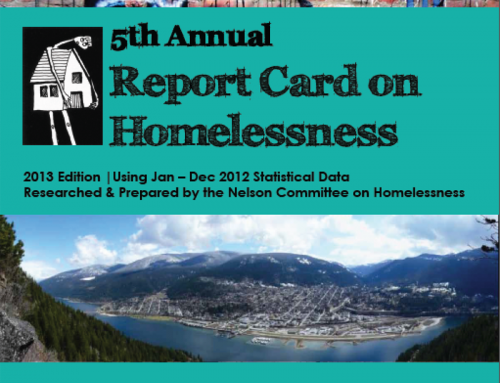 5th Annual Report Card on Homelessness in Nelson