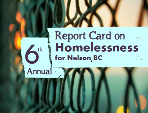 6th Annual Report Card on Homelessness in Nelson