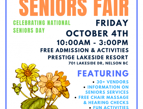 5TH ANNUAL KOOTENAY SENIORS FAIR ON OCTOBER 4TH!