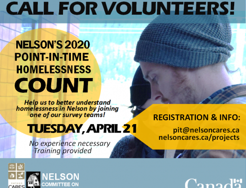 Call for Volunteers ~ Point in Time 2020