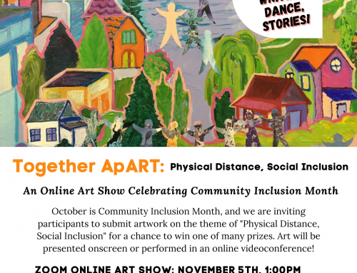 Together, ApART: Celebrating Community Inclusion Month